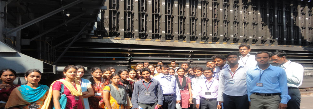 Industrial Visit to Vizag Steel Plant